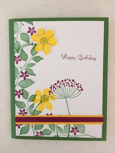 Summer silhouettes stampin up
