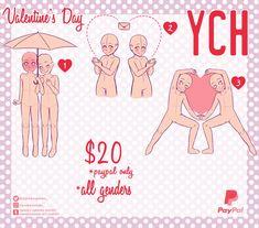 Valentine's YCH OPEN by Spooky-spooks.deviantart.com on @DeviantArt