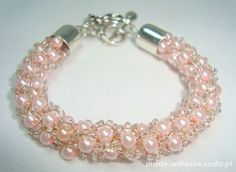 Bransoletka sznur perłowy róż blogerska   Cena: 29,00 zł  #nowabransoletka #rozowebransoletki #fajnabransoletka