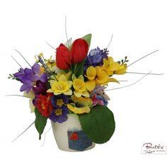 Adiere de primavara - Aranjament cu flori artificiale