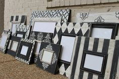 Delta Girl Distressed Frames...i'm in love with these...so cute!