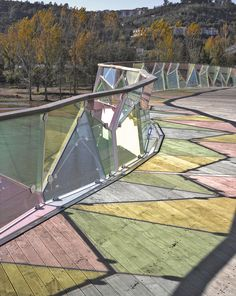 Pedro e Ines Footbridge, Coimbra, Portugal/Designed by Cecil Balmond