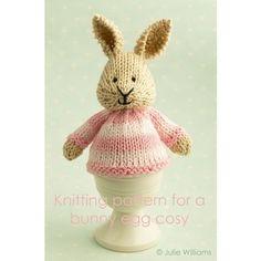 Strickmuster für ein Hase Eierwärmer von Littlecottonrabbits, £2.25