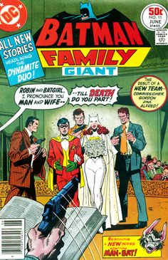 You haven't lived until you've seen Batgirl and Robin in their wedding costumes (I said Yvonne Craig, not Yvonne Strahovski)!