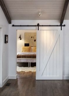 Sliding door for the bedroom (or any room)!!