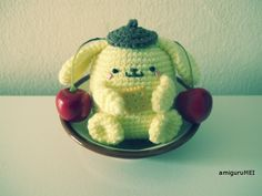 This is one of my favorite Sanrio characters & there is a free pattern...Whoo-hoo!