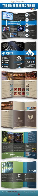 Trifold Brochures Bundle