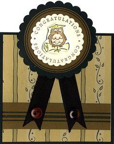 DeNami Golden Vines Graduation card