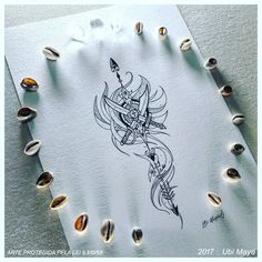 Discover recipes, home ideas, style inspiration and other ideas to try. Orisha, Catrina Tattoo, Stick And Poke, Drawing Sketches, Drawings, Tattoo Inspiration, Tatoos, Tatting, Tattoo Designs