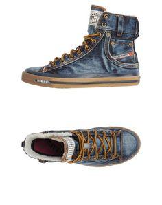 Diesel Women - Footwear - High-top sneaker Diesel on YOOX