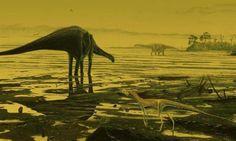 Descubren una 'autopista' para dinosaurios en Escocia