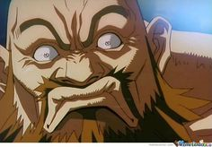 """Zangief """"What are you looking at!"""""""