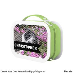Create Your Own Personalized Lunch Box