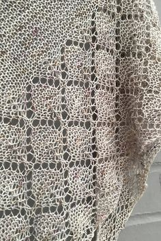 Ravelry: Diamond Ice shawl in Skein Queen Crush - knitting pattern by Woolenberry.
