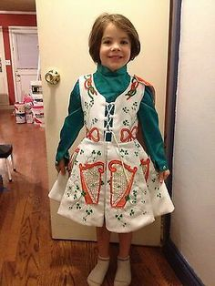 Vintage irish dancing costume