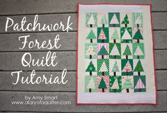 Patchwork Tree Quilt