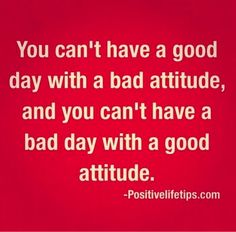 #Attitude makes such a difference! Make it a good one :) #positive #happy #monicapotter #inspiration