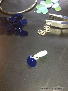My new Diy sequins necklace by @dolcegabbana ! @themorasmoothie @stefanogabbana