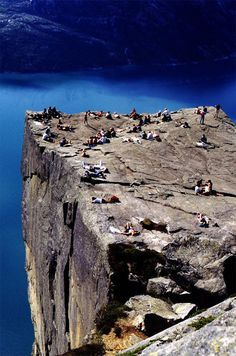 Pulpit Rock, Norway. I want to do this before I die