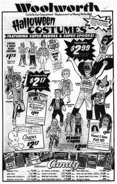31 23 oct 1974 woolworth halloween ad