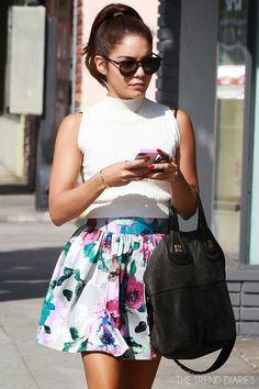 Vanessa Hudgens out in Santa Monica, California - August 1, 2013