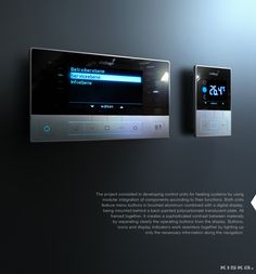 Control Units / Designed by KISKA on Behance