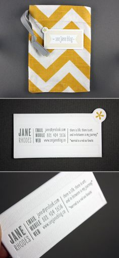 love this business card.