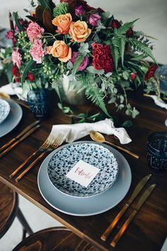 centerpieces - photo by Figtree Pictures http://ruffledblog.com/moody-industrial-wedding-inspiration