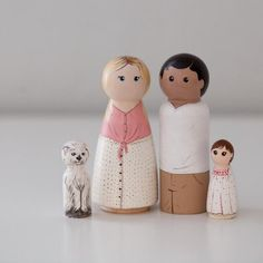 My shop is open! Once again I will only be taking a select number of custom orders. Thank you so much for your love and support of my little art! Wood Peg Dolls, Clothespin Dolls, Wedding Outfits For Family Members, Grilling Gifts, Practical Gifts, All About Eyes, Animal Paintings, Gifts For Friends, Special Gifts