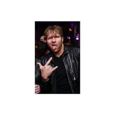 Pinterest ❤ liked on Polyvore featuring wwe and dean ambrose