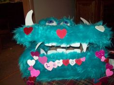 pinterest  valetine boxes crafts | ... of my friends made this for her son for Valentines day ... | Craf