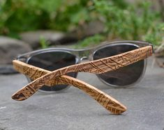 Etsy :: Your place to buy and sell all things handmade Sunglasses Box, Wooden Sunglasses, Sunglasses Women, Groomsmen Gifts Unique, Eco Friendly Fashion, Wal, Personalized Products, Unisex, Protective Cases