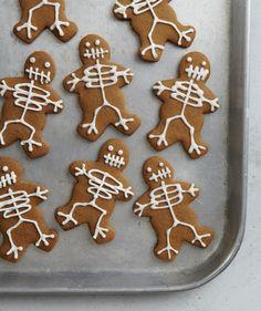 food recipes, skeleton cooki, skeletons, gingerbread cookies, gingerbread skeleton, halloween cooki, cooki recip, halloween goodi, halloween parti
