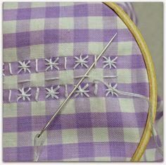 Riley Blake Designs -- Cutting Corners: Chicken Scratch Embroidery!