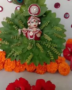 Diwali Decorations At Home, Home Wedding Decorations, Flower Decorations, Diy Home Crafts, Holiday Crafts, Naming Ceremony Decoration, Diy For Kids, Crafts For Kids, Cradle Ceremony