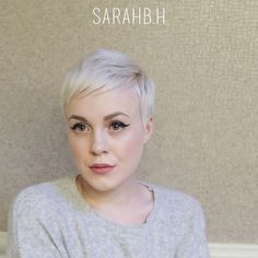 """3,359 Likes, 104 Comments - Sarah H. (@sarahb.h) on Instagram: """"▶#sarahstyles How I style my new #michellewilliams inspired cut by @sarahchambray ✂ I started with…"""""""