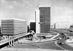 Thaelmannplatz, Halle an der Saale, DDR , 1970s