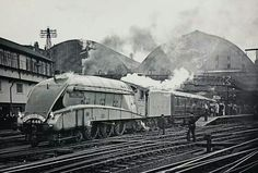 class Pacific 4467 Wild Swan, built Doncaster renumbered withdrawn in Diesel Locomotive, Steam Locomotive, Flying Scotsman, Train System, Steam Railway, British Rail, Train Journey, Steam Engine, East Coast
