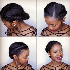 simple+elegant+updo+for+natural+hair