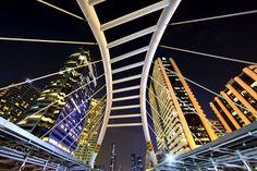 Pedestrian Bridge by pebos