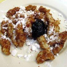 Burgonyás nudli recept   Mindmegette.hu Hot Dog, Waffles, French Toast, Breakfast, Recipes, Food, Morning Coffee, Essen, Waffle