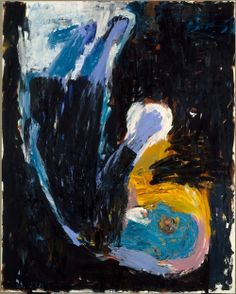 Baselitz, Georg (1938- ) - 1983 Man of Faith (Metropolital Museum of Art, New York City)