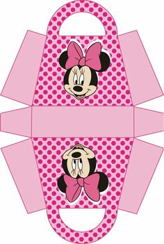 Minnie Mouse Pink, Mickey Minnie Mouse, Diy Gift Box, Gift Boxes, Party In A Box, Mickey Mouse Birthday, Mouse Parties, Party Gifts, Paper Crafts