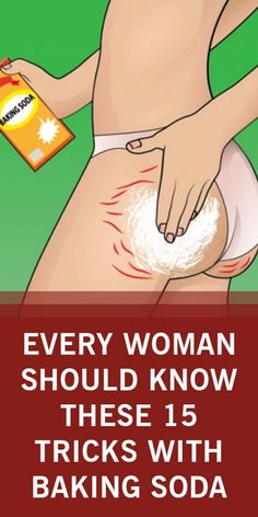 This is a universal and widely available product. Baking soda will help you throughout the house, for personal hygiene, and also for dealing with unwanted insects and will simply make everything much easier. Strech Marks On Thighs, Stretch Marks, Dark Bikini Area, Beauty Skin, Health And Beauty, Beauty Makeup, How To Relieve Heartburn, Stretch Mark Remedies, Personal Hygiene