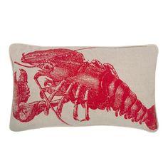 Thomaspaul - Lobster Flax Pillow at 2Modern