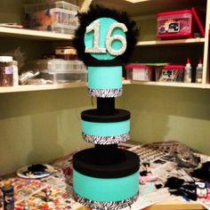 DIY Cupcake Tower TheSubtleStatement.com