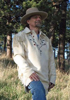 Photo Gallery Page for Buckskin Leather Shirts