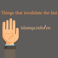 Things that invalidate the fast http://ift.tt/1UtMde7  We would like you to give us a summary of things that invalidate the fast.  Praise be to Allaah.   Allaah has prescribed fasting in accordance with the highest wisdom.   He has commanded the fasting person to fast in a moderate manner so he should not harm himself by fasting or consume anything that will invalidate the fast.   Hence the things that invalidate the fast are of two types:   Some of the things that invalidate the fast…