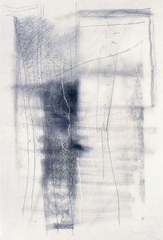 This is an exquisite one... excellent in every way. Notice the white negative line! Gerhard Richter 'Lines which do not exist' Line Study, Richard Tuttle, Deep Art, How To Make Drawing, Gerhard Richter, Mark Making, Abstract Landscape, One Stroke, Abstract Paintings
