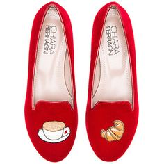 Chiara Ferragni Italian Breakfast Flat Shoes